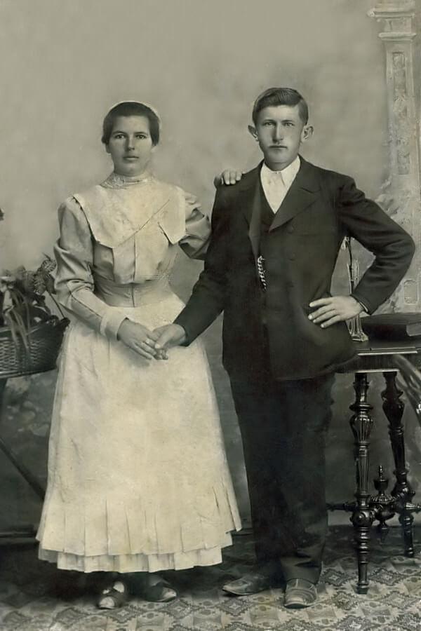 Gallai István és Jenei Ágnes fotója